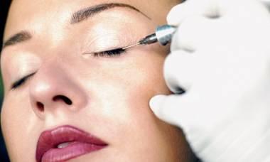 Maquiagem definitiva nos olhos - procedimento