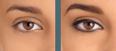 Riscos da maquiagem definitiva nos olhos