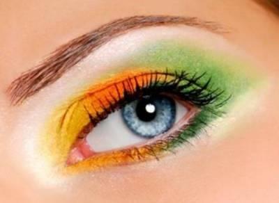 Maquiagem torcida brasileira