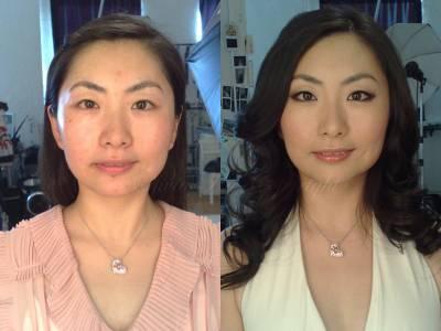 Fotos de maquiagens para orientais