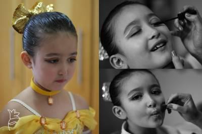Dicas de maquiagem para bailarina infantil - criança