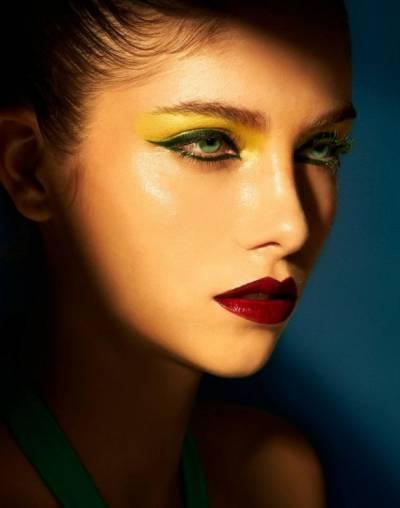 Ideias de maquiagens para ver o brasil jogar