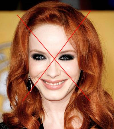 erros de maquiagem em ruivas