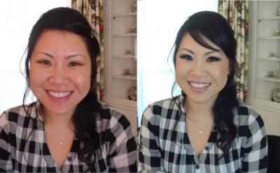 Maquiagem preta para mulheres orientais