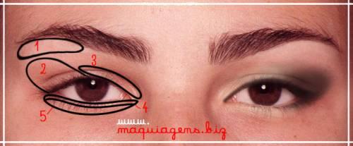 Dicas de maquiagem para olhos pequenos e fundos passo a passo