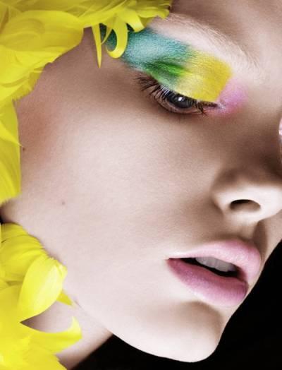 Maquiagem artistica copa do mundo 2014