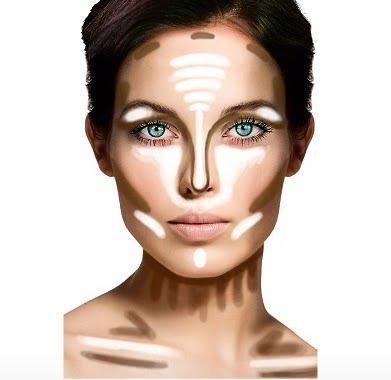dicas de maquiagem para afinar o rosto