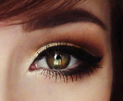 Maquiagem preta para vestido dourado passo a passo