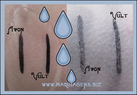 delineador avon color trend a prova d'agua