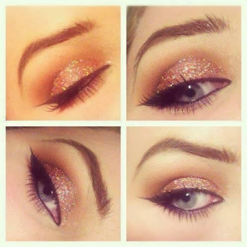 Maquiagem ideal para olhos grandes passo a passo