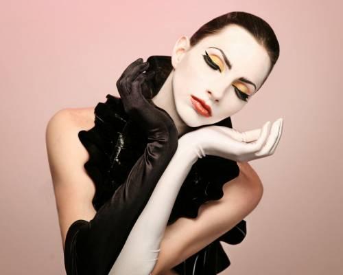 fotos maquiagem de bailarina classica