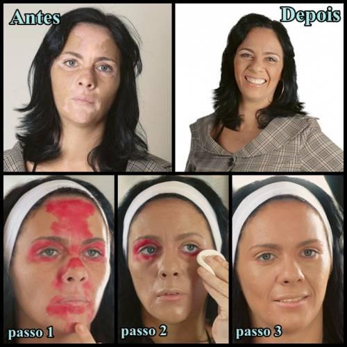 Como fazer maquiagem para cobrir vitiligo passo a passo