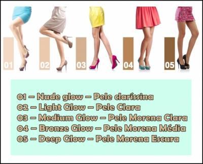 1f65dfcda Maquiagem para PERNAS - Melhores marcas e Como usar!