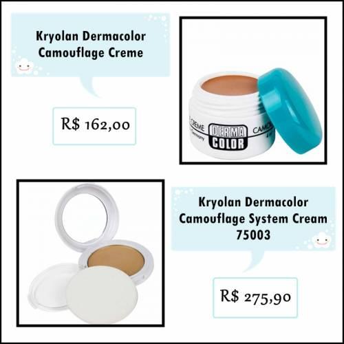 Kryolan Dermacolor para vitiligo funciona