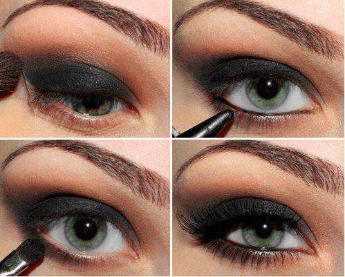 maquiagem para olhos grandes passo a passo e fotos