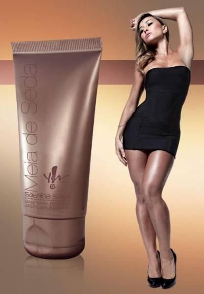 Maquiagem para pernas meia de Seda Yes - Resenha