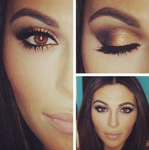 maquiagem perfeita para olhos castanhos claro passo a passo