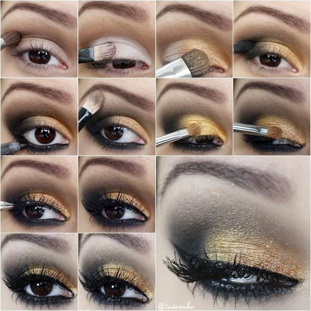 Bolsa Dourada Durante O Dia : Maquiagem para formatura como fazer aprenda aqui