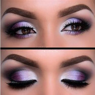 Dark Purple Bridal Makeup : Maquiagem ROXA - Passo a Passo e Dicas para combinar!