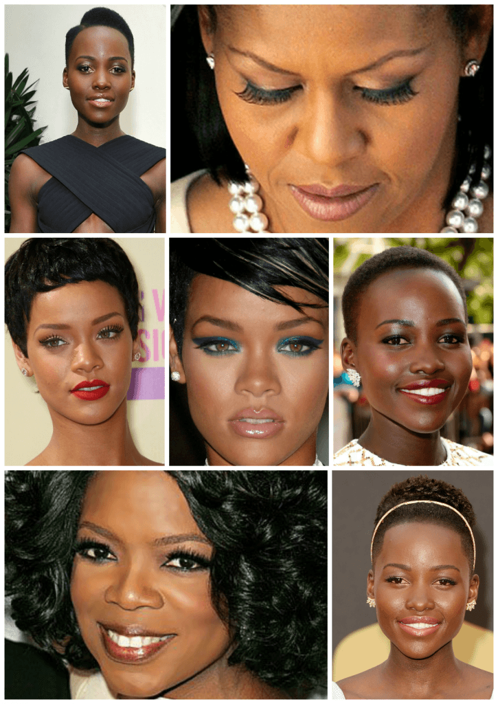 maquiagens ideais para mulheres com pele escura e morenas