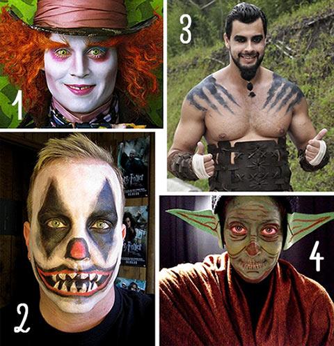 Melhores fantasias e maquiagem para halloween masculina