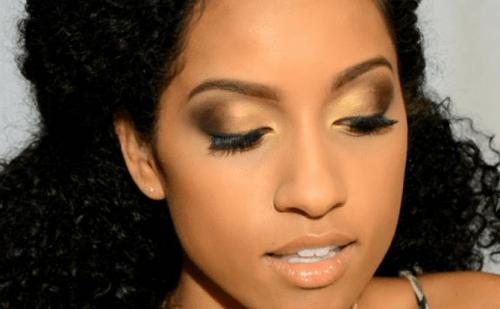 Make up para pele negra discreta