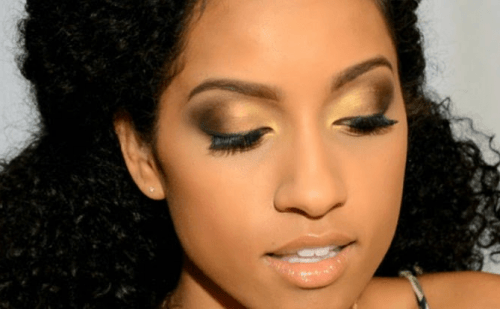 Make up para pele negra discreta