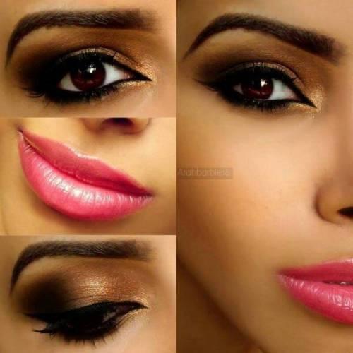 Maquiagem para realçar olhos castanhos passo a passo