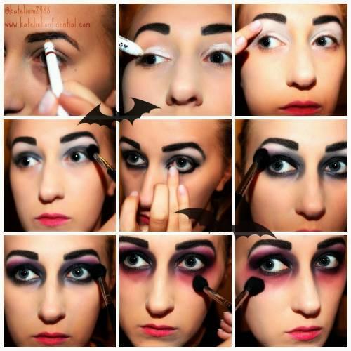 como fazer maquiagem de vampira para halloween