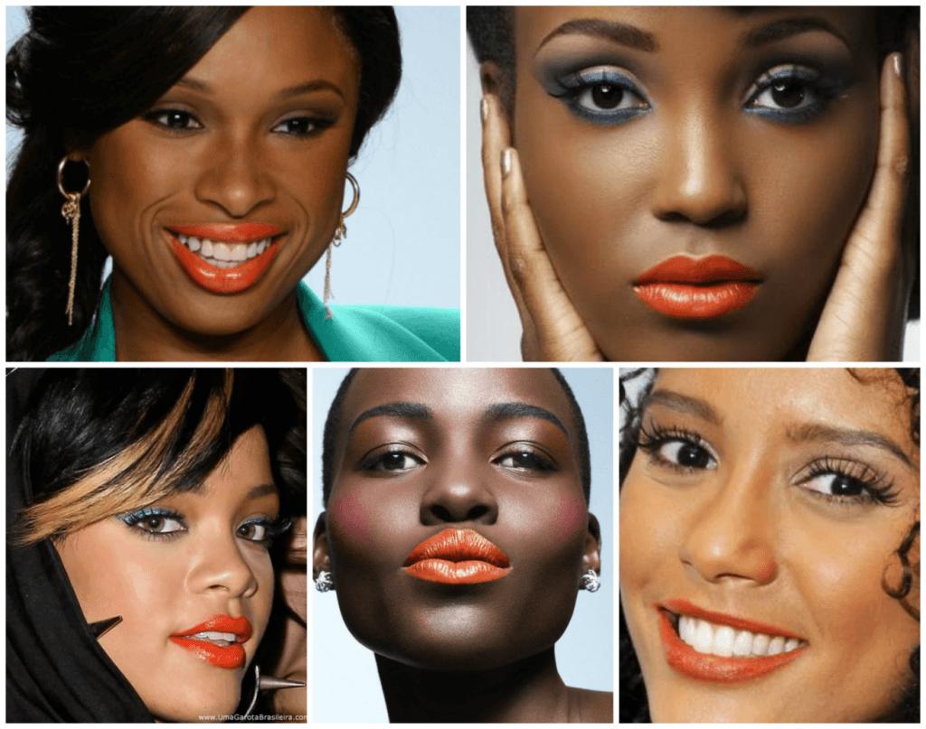 Populares Maquiagem para PELE NEGRA: Tutoriais Passo a Passo! KT78