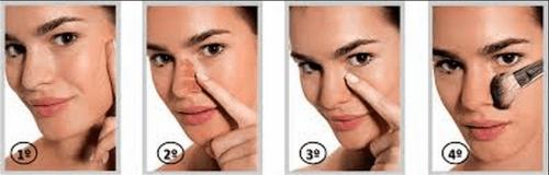 maquiagem para pele negra básica