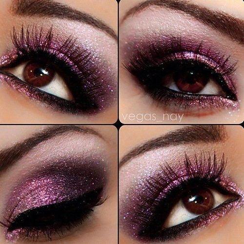 Melhores cores de maquiagem para olhos castanhos escuros