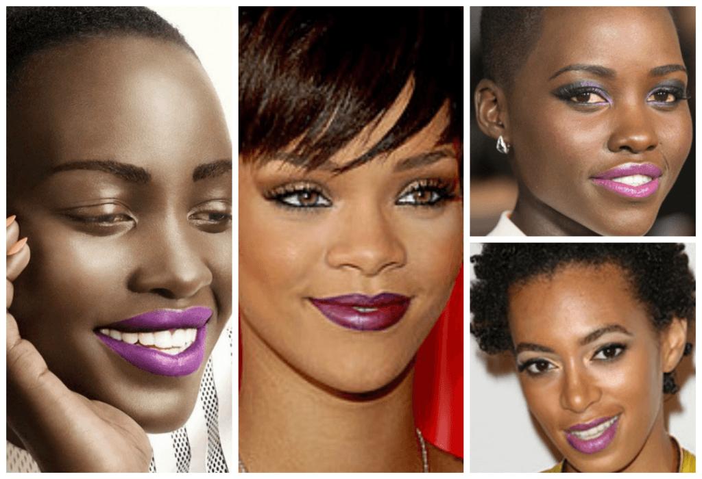 fotos maquiagem para pele negra