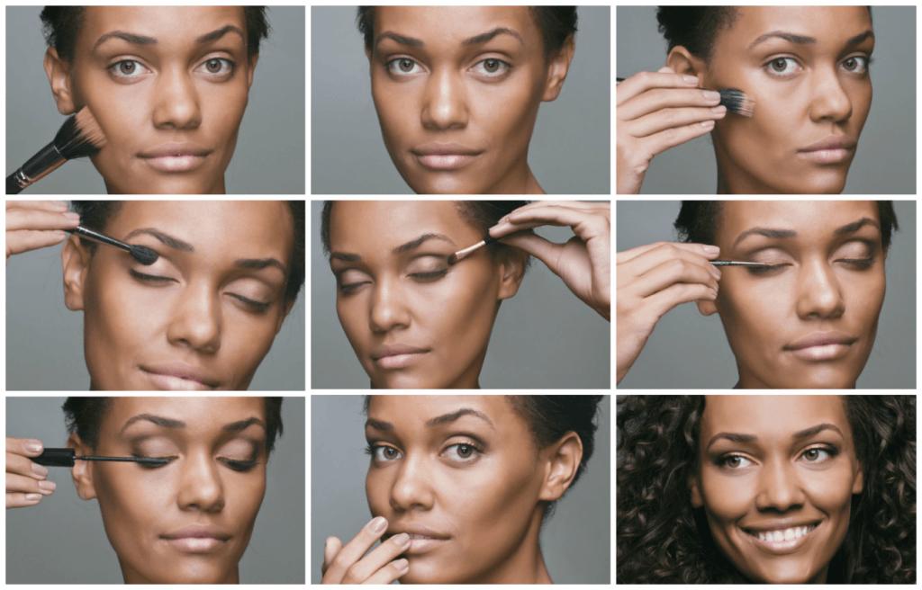 maquiagem para pele negra passo a passo