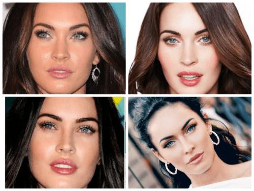 Maquiagem da Megan Fox para olhos pequenos