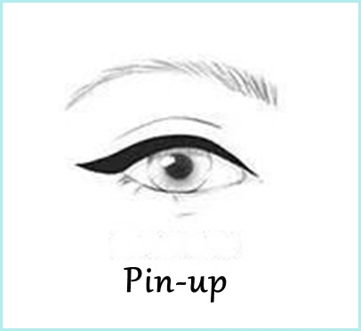 maquiagem com delineador pin up passo a passo