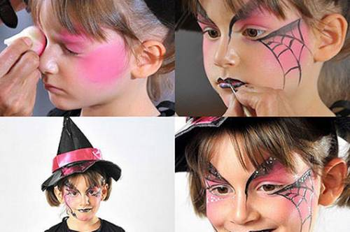 Maquiagem de bruxa para Halloween passo a passo