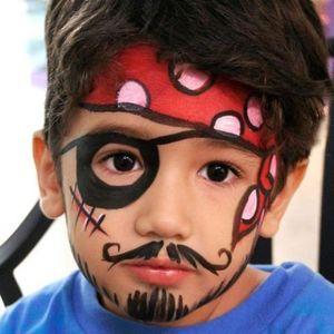 Maquiagem de Halloween infantil para criança