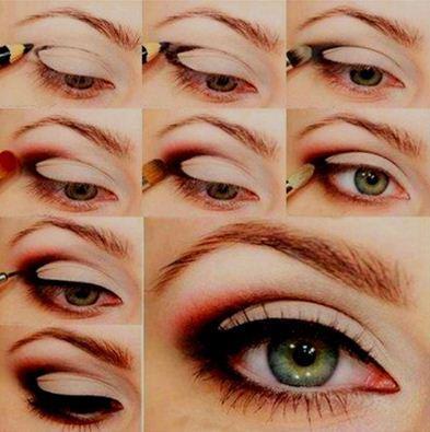 Como fazer maquiagem vermelha passo a passo