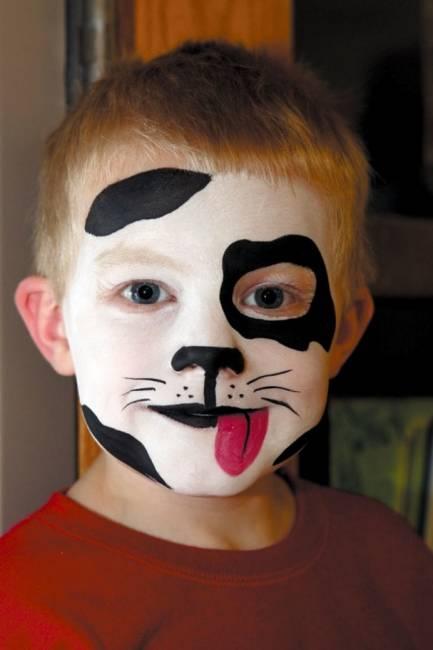 Maquiagem de halloween infantil passo a passo e fotos - Pinturas para halloween ...