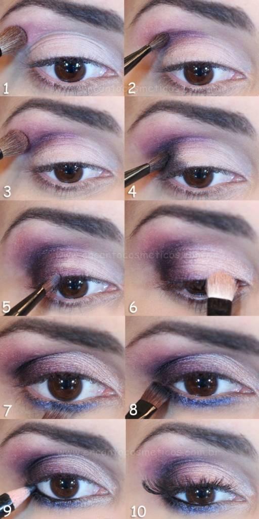 como fazer maquiagem 3d - tutorial