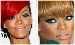 maquiagem verde para negras