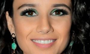 maquiagem verde para formatura