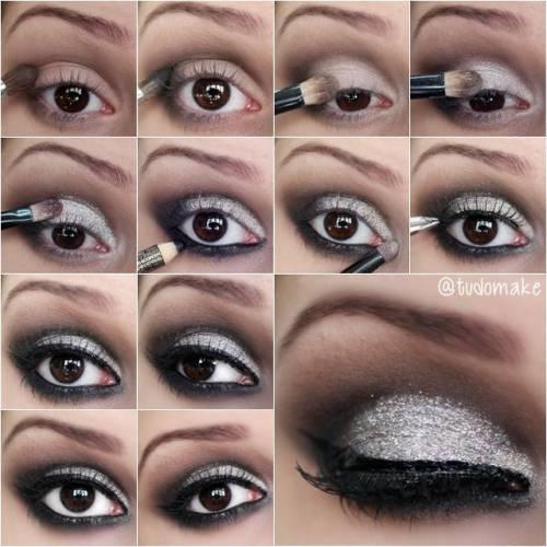 Maquiagem Passo a Passo Sombra Maquiagem Para Ano Novo Passo