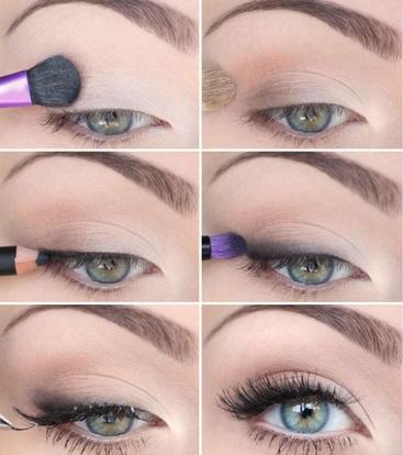 tipos de maquiagem para os olhos