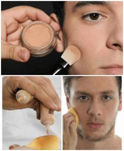 como fazer maquiagem masculina