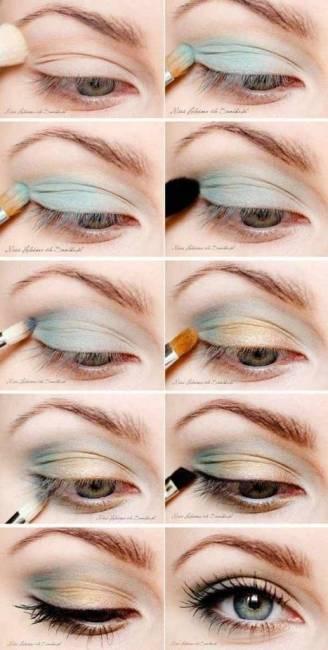 como fazer maquiagem verde e amarela