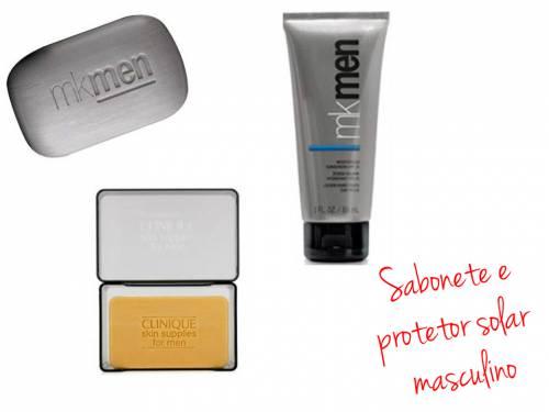 maquiagem masculina - produtos