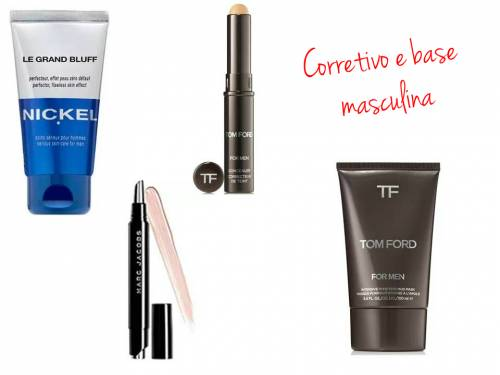 Maquiagens para homens