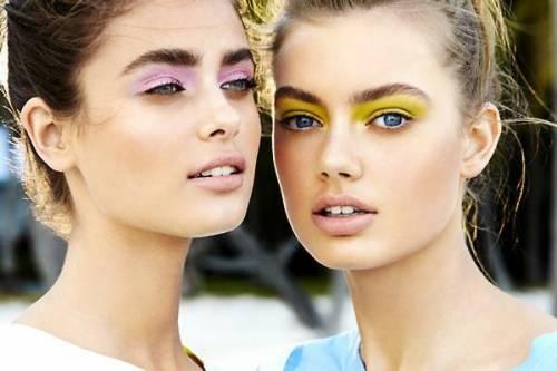 maquiagem colorida está na moda